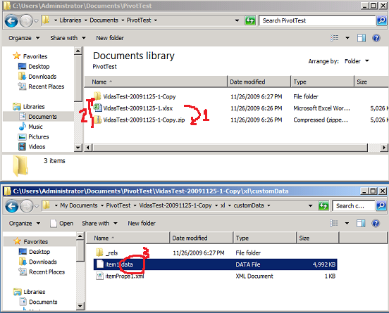 Rename xlsx file to zip